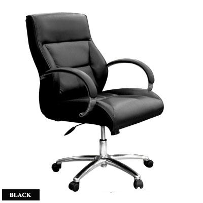 เก้าอี้บริหารพนักพิงต่ำ PACIO-02