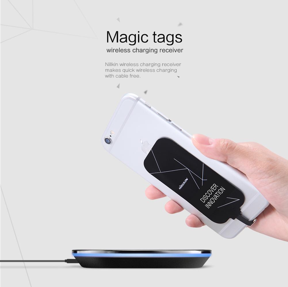 แผ่นชาร์จไร้สาย NILLKIN Magic Tags Wireless Charging Receiver