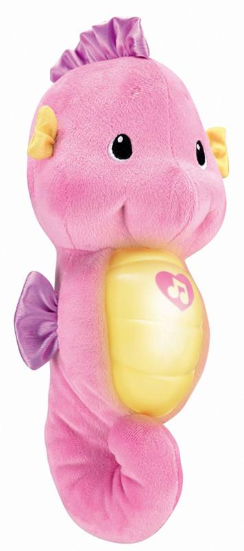 ของเล่นเด็กอ่อน ตุ๊กตาม้าน้ำสีชมพู Fisher-Price
