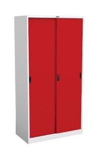 ตู้บานเลื่อนสูงแบบทึบ CLK-5