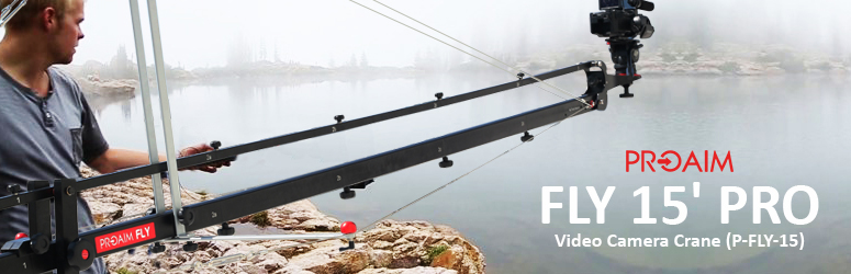 Proaim Fly 15' Pro Video Camera Crane (P-FLY-15)