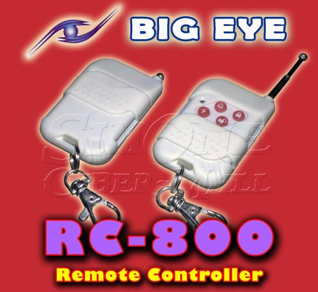 BIG EYE RC-800 Remote Controller