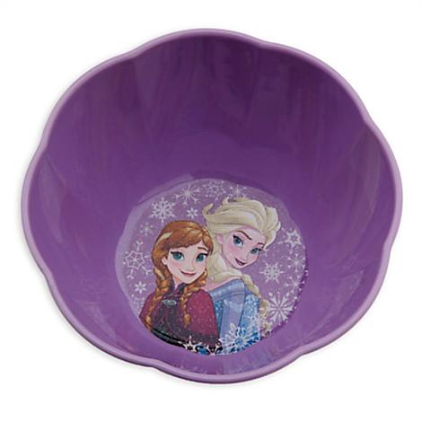 ชามลาย Anna and Elsa [USA]