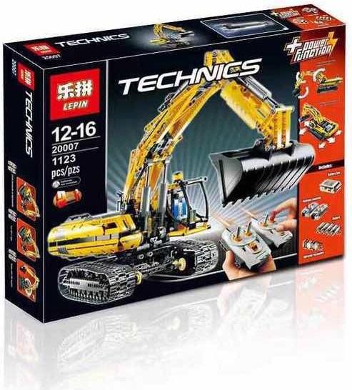 เลโก้จีน LEPIN 20007 ชุด Motorized Excavator