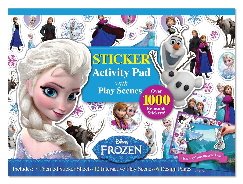 สมุดสติกเกอร์ลอกได้ Bendon Frozen Ultimate Sticker Activity Pad