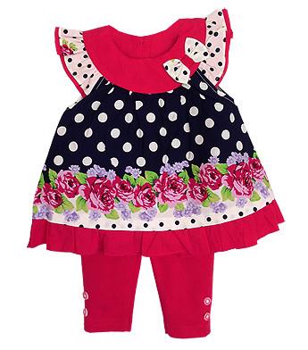 **Winnie's** SM1797 Size 3//6, 6/9, 9/12m เสื้อผ้าเด็กขายส่ง ยกแพค 6 ชุด ครบไซส์