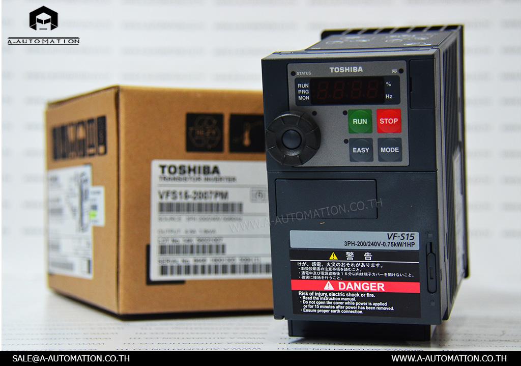 INVERTER MODEL:VFS15-2007PM [TOSHIBA]