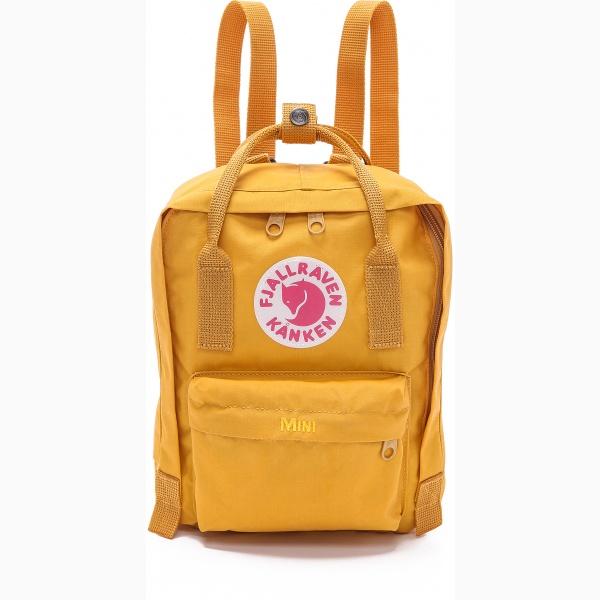 กระเป๋า Fjallraven Kanken Mini สีเหลือง Ochre พร้อมส่ง