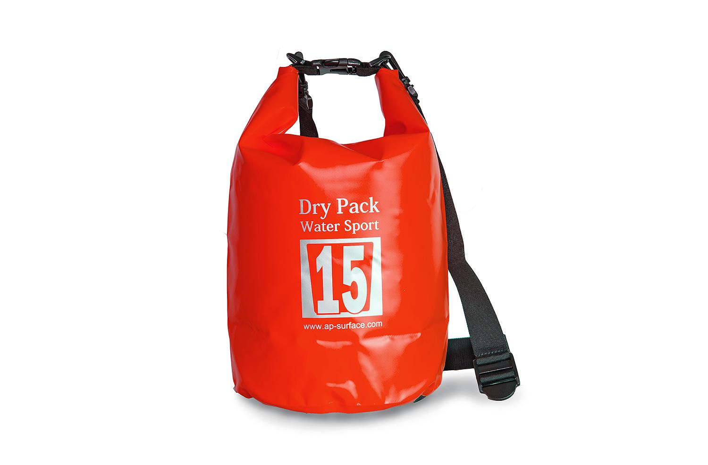 กระเป๋ากันน้ำ Dry pack 15L-สีแดง