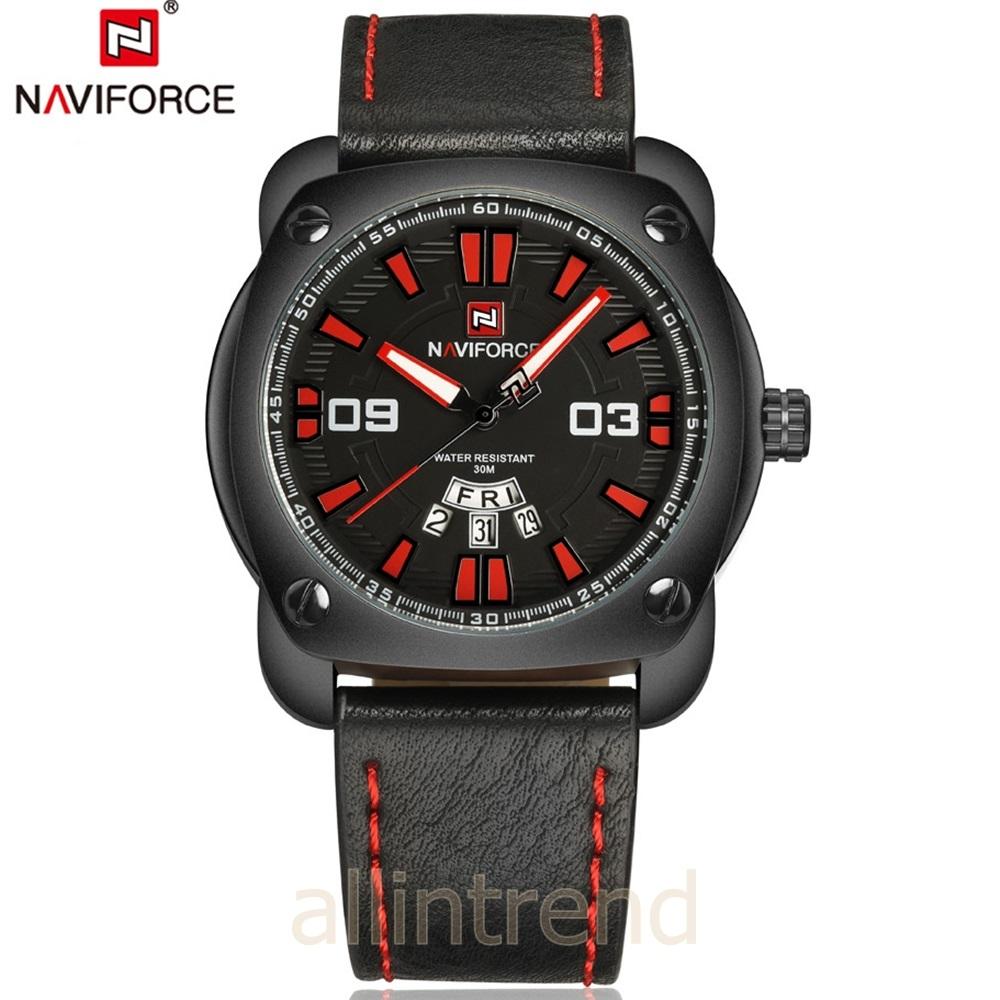 นาฬิกา Naviforce รุ่น NF9096M สีแดง/ดำ ของแท้ รับประกันศูนย์ 1 ปี ส่งพร้อมกล่อง และใบรับประกันศูนย์ ราคาถูกที่สุด