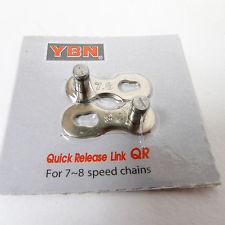ข้อต่อโซ่ปลดเร็ว YBN 7,8 สปีด แบบแพ็ค