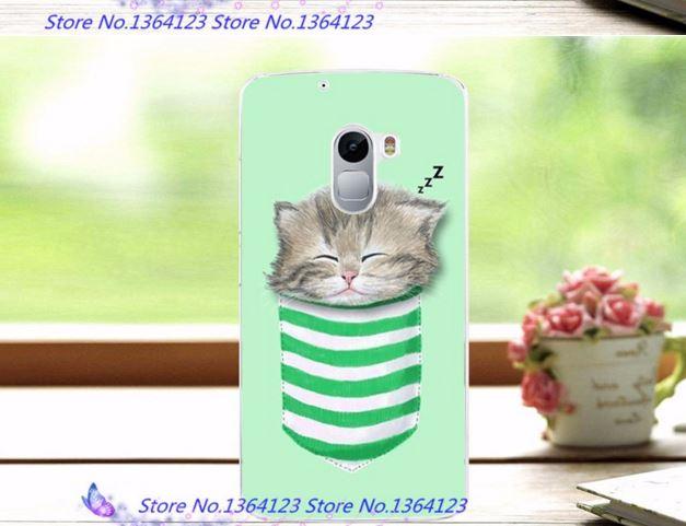 เคส lenovo k4 note (vibe x3 lite) ลายลูกแมวหลับในถุงเท้า2 พลาสติกเคส