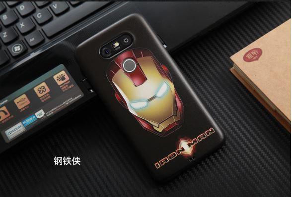 เคสLG G5 ลายไอรอนแมน silicone soft case