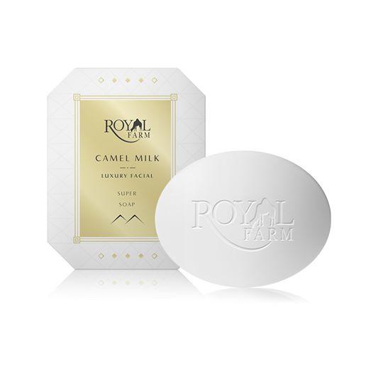 ROYAL FARM Camel Milk Balanced Facial Soap - สบู่นมอูฐ (สินค้านำเข้าจากประเทศสหรัฐอาหรับเอมิเรตส์)**
