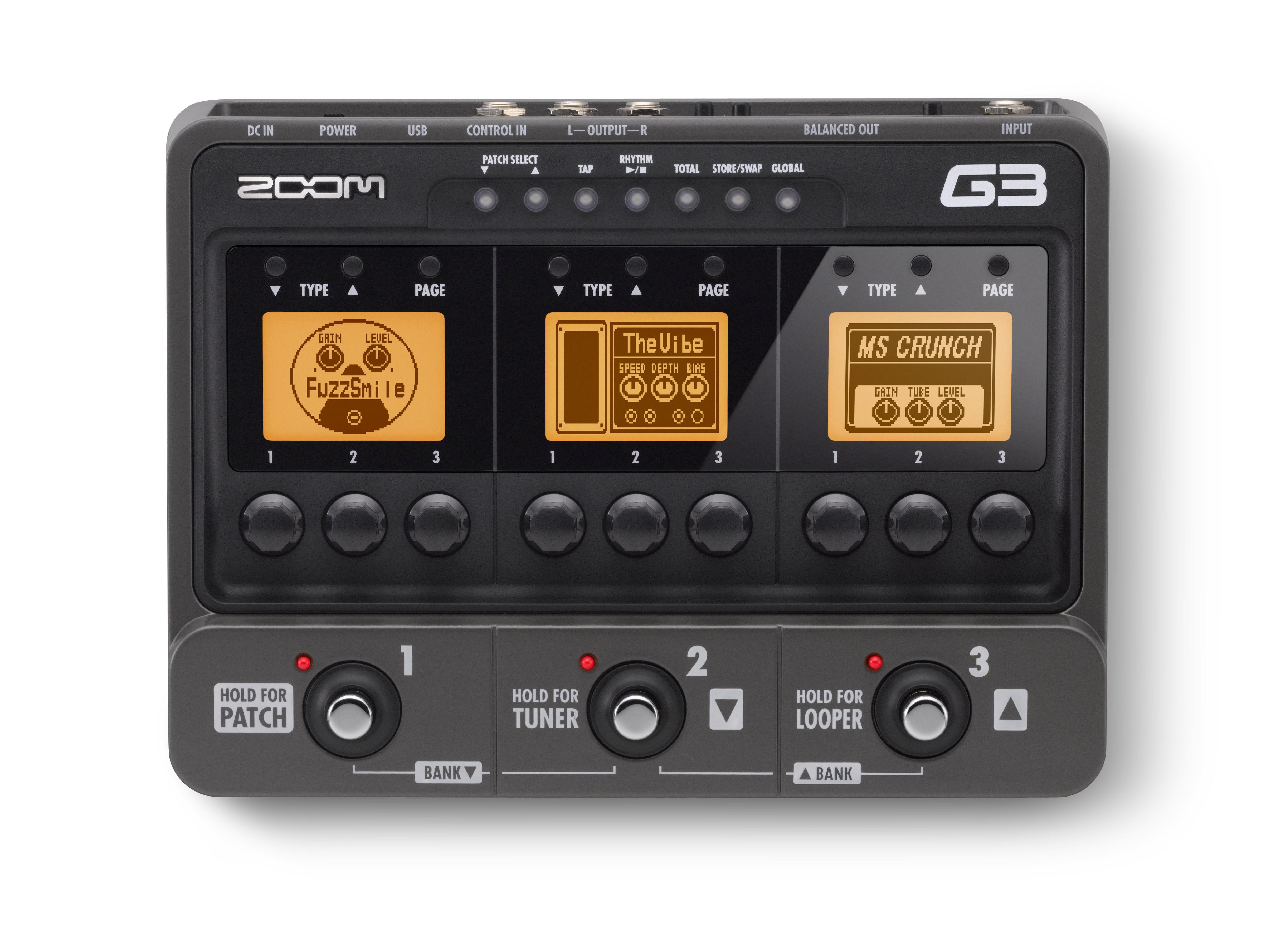 ZOOM G3 /ADAP GUITAR EFFECT
