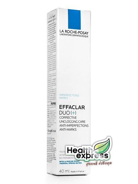 La Roche Posay Effaclar Duo+ ลาโรซ โพเซย์ เอฟฟาคลาร์ ดูโอ พลัส ปริมาณสุทธิ 40 ml.