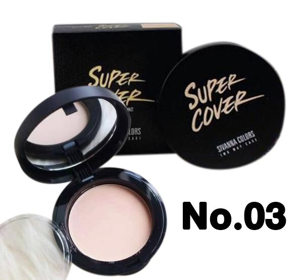 Sivanna Super Cover Two Way Cake HF201 (No.03)