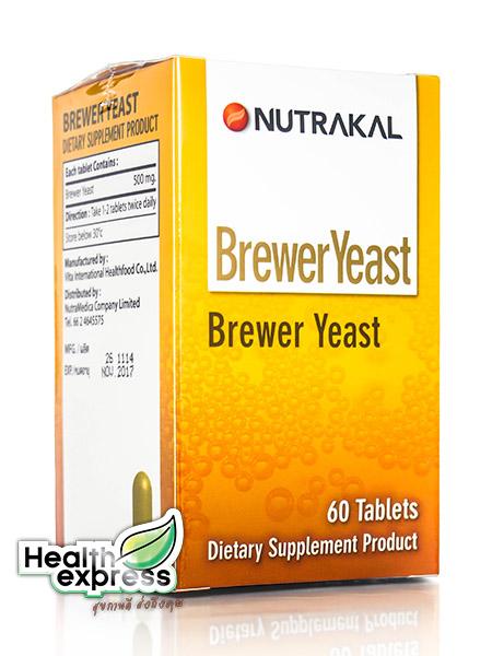 Nutrakal Brewer Yeat 60 Tabs บริวเวอร์ ยีสต์