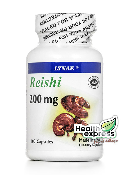 Lynae Reishi 200 mg. ไลเน่ เห็ดหลินจือ บรรจุ 100 แคปซูล