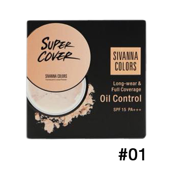 Sivanna Colors Long-wear Full coverage Oil control SPF15+ HF699 No.01