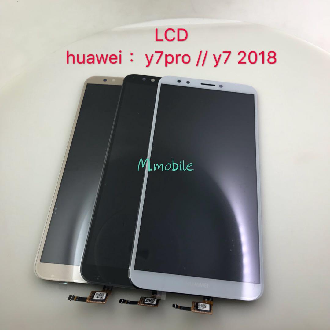 LCD Huawei Y7pro/Y7(2018) มีสีขาว,ดำ,ทอง