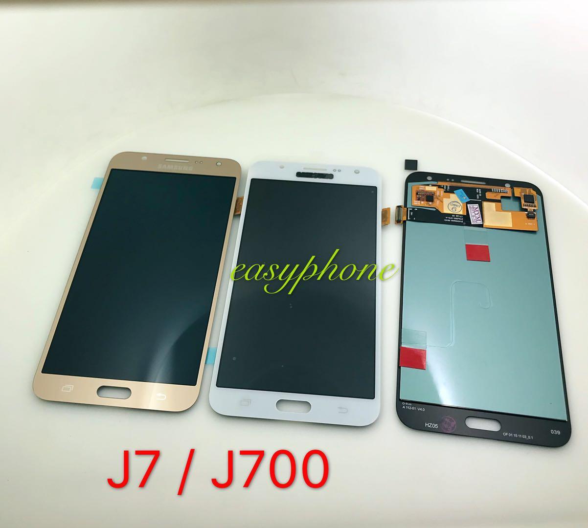 LCD J7 / J700 แท้ (เป็นจอชุด) มีสี ขาว,ดำ,ทอง