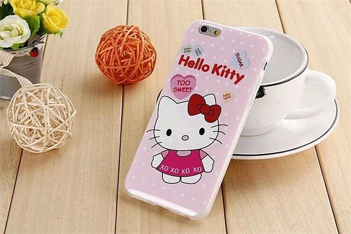 เคสยาง Snoopy / Kitty (IMD) - เคส iPhone 6 / 6S