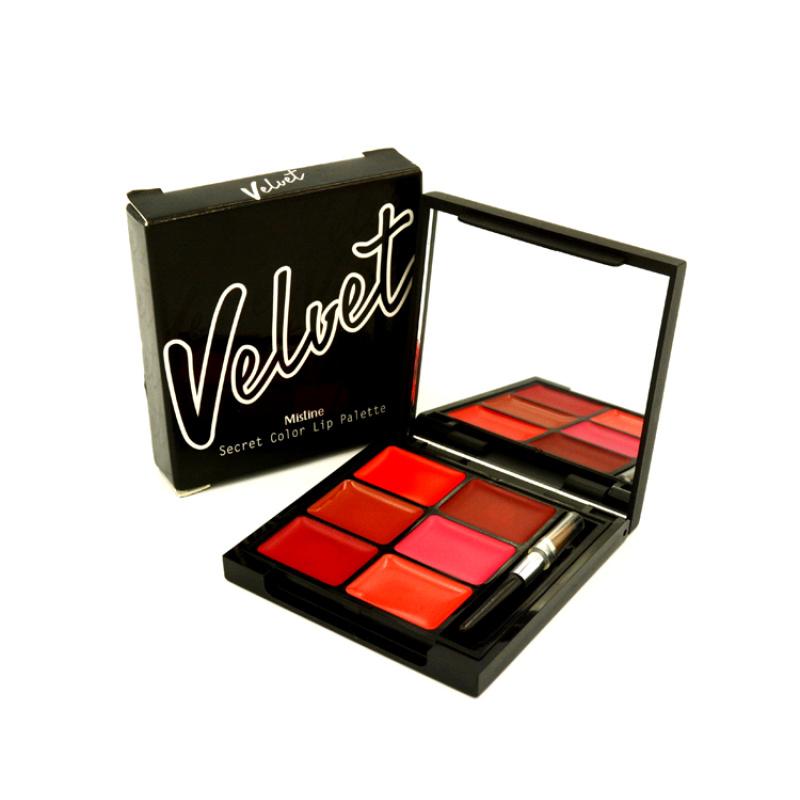 Mistine Velvet Secret Color Lip Palette