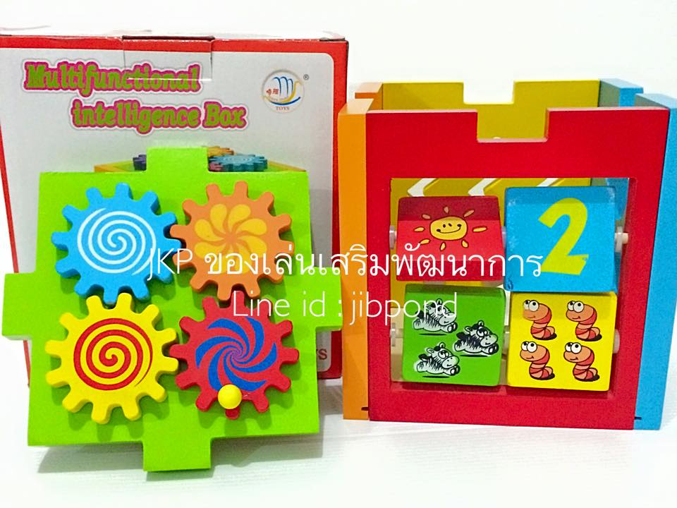 ของเล่นเสริมพัฒนาการ ของเล่นไม้ ของเล่นชุด กล่องกิจกรรม 5 ด้าน