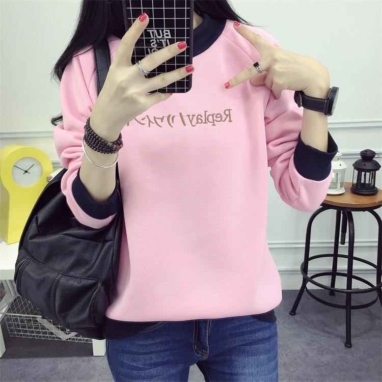 เสื้อกันหนาวสีชมพูราคาถูก