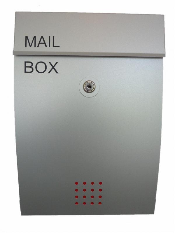 ตู้จดหมายอลูมิเนียม