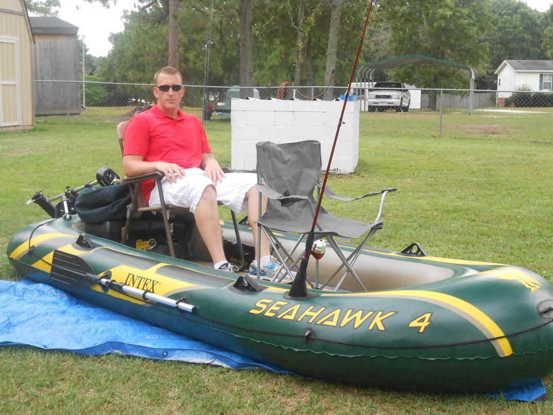 เรือยาง Intex Seahawk 4 Set