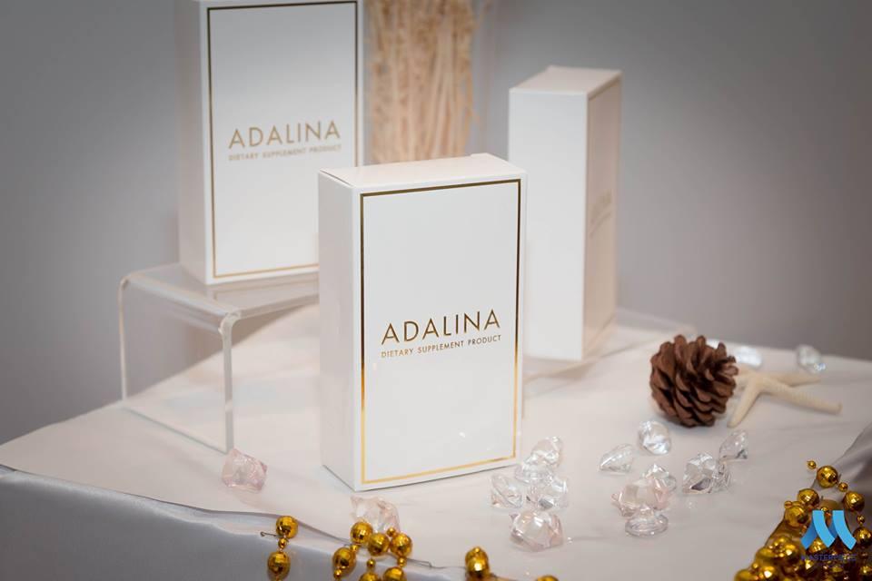 Adalina  อดาลีนา  สเต็มเซลล์ ลดริ้วรอย ลดสิว ลดฝ้า กระ ผิวกระจ่างใส ชะลอความชรา