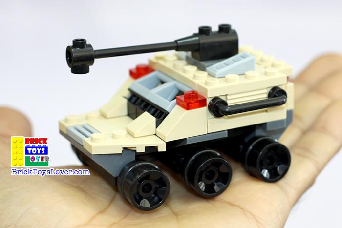 เลโก้จีน 29017-1 ทหาร รถถัง Legion Cheetah ราคาถูก Tank