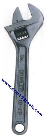 STANLEY สแตนเล่ย์ ประแจเลื่อน adjustable wrench