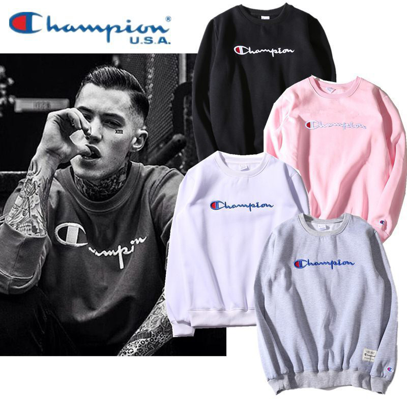 (Pre-Order) เสื้อ Champion Long Sleeve Logo Embroidery