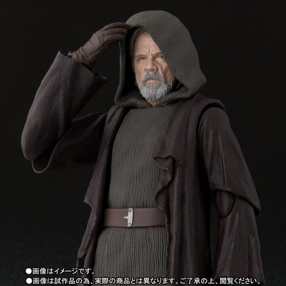 เปิดจอง S.H. Figuarts Luke Skywalker (The Last Jedi) TamashiWeb Exclusive (มัดจำ 500 บาท)