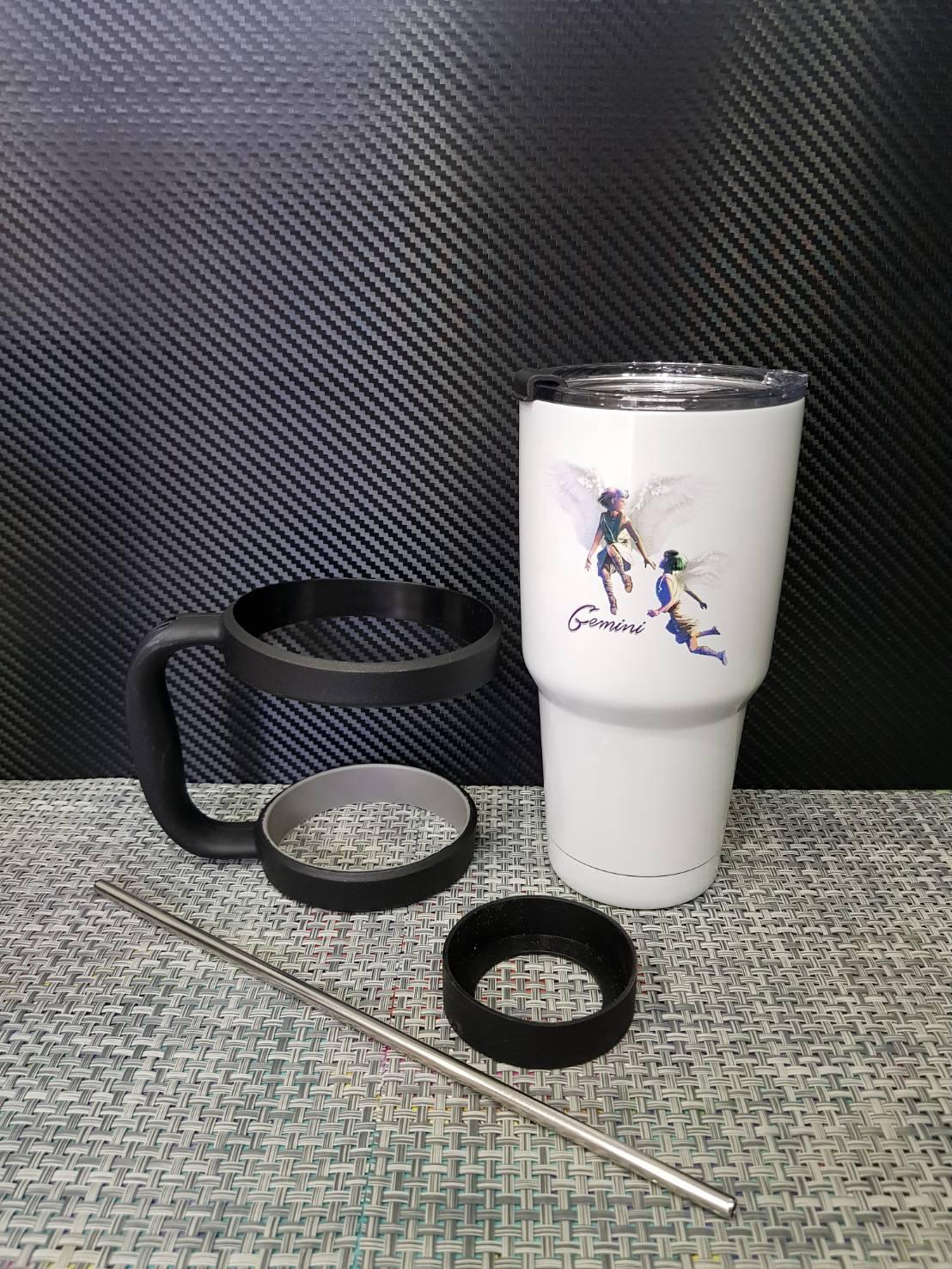 ชุดแก้วเยติ 30 ออนซ์ พื้นสีขาว ราศีเมถุน