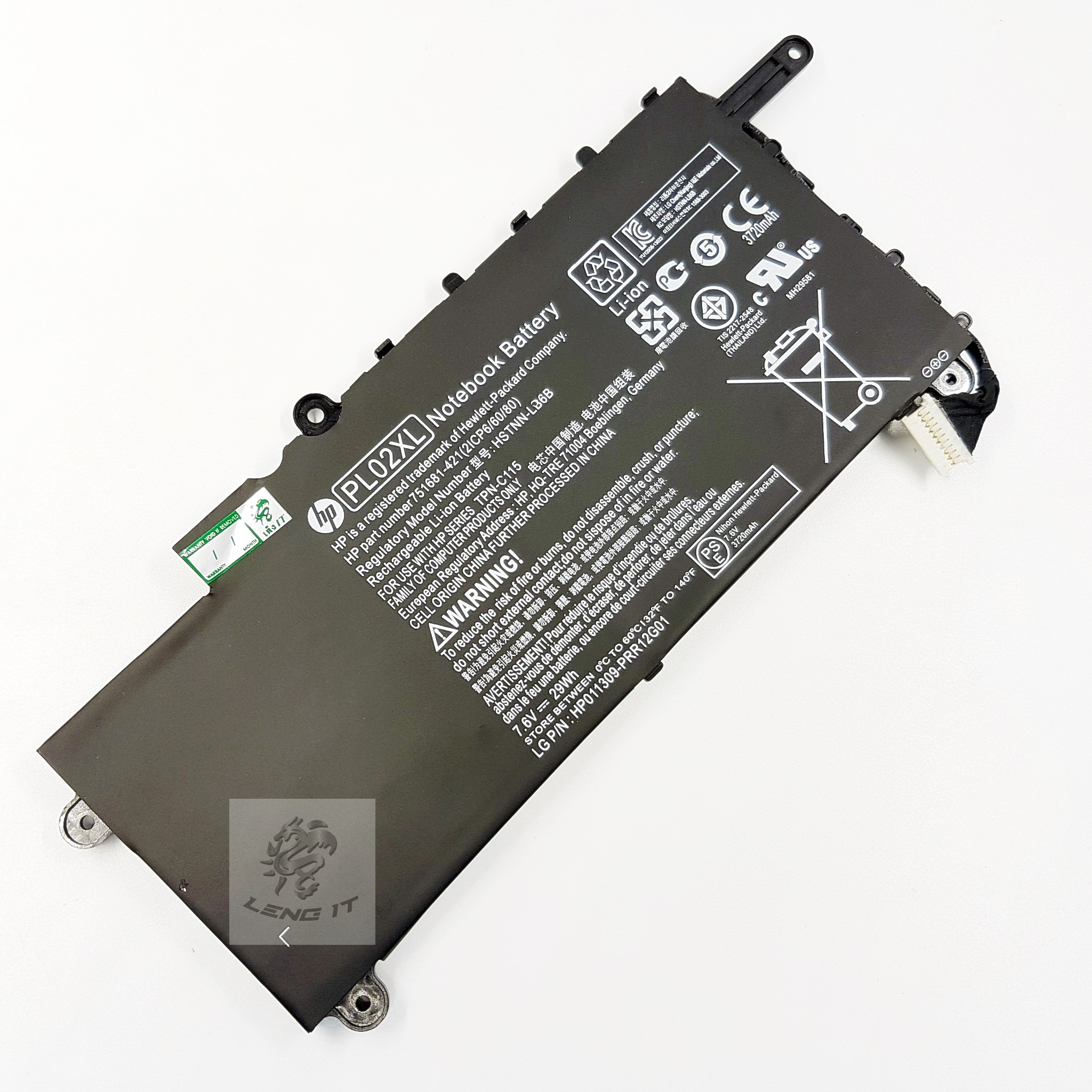 Battery Hp Pavilion PL02XL