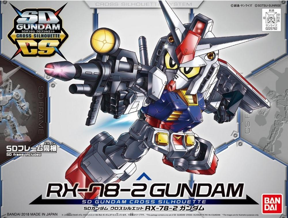 เปิดรับPreorder ไม่มีค่ามัดจำครับSD Gundam Cross Silhouette RX-78-2 Gundam 800yen **ไม่มี โครง Cross Silhouette Frame**