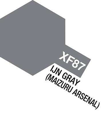 81785 acrylic mini (flat) xf-87 IJN gray (maizuru arsenal)