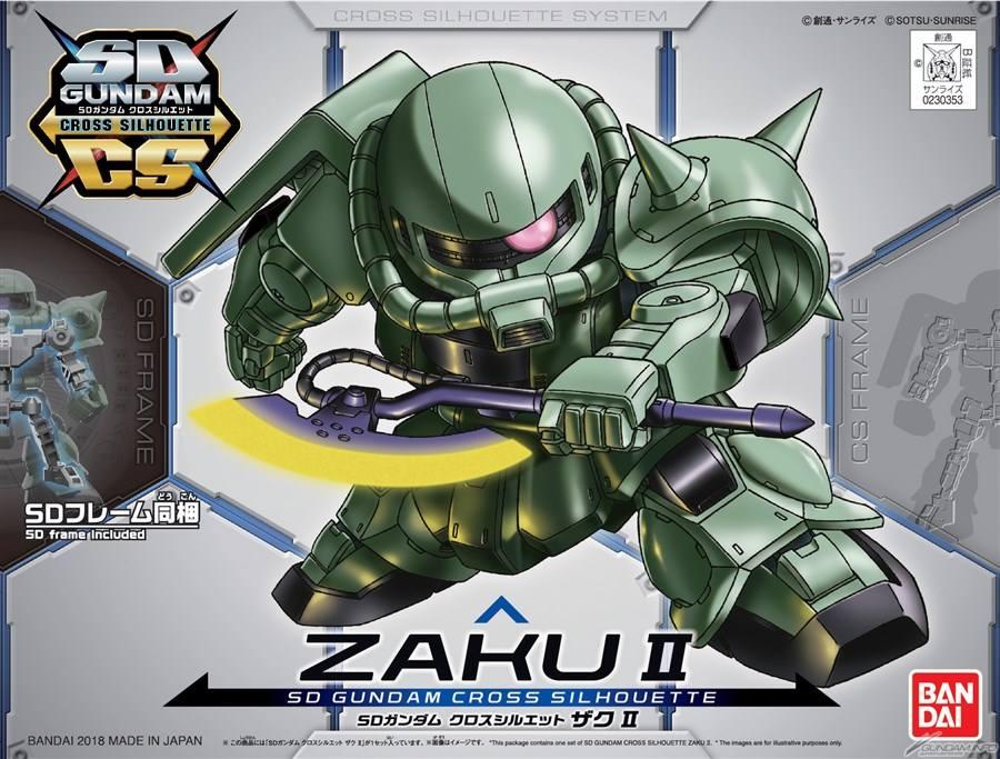 SD CS 04 Zaku II 800Yen