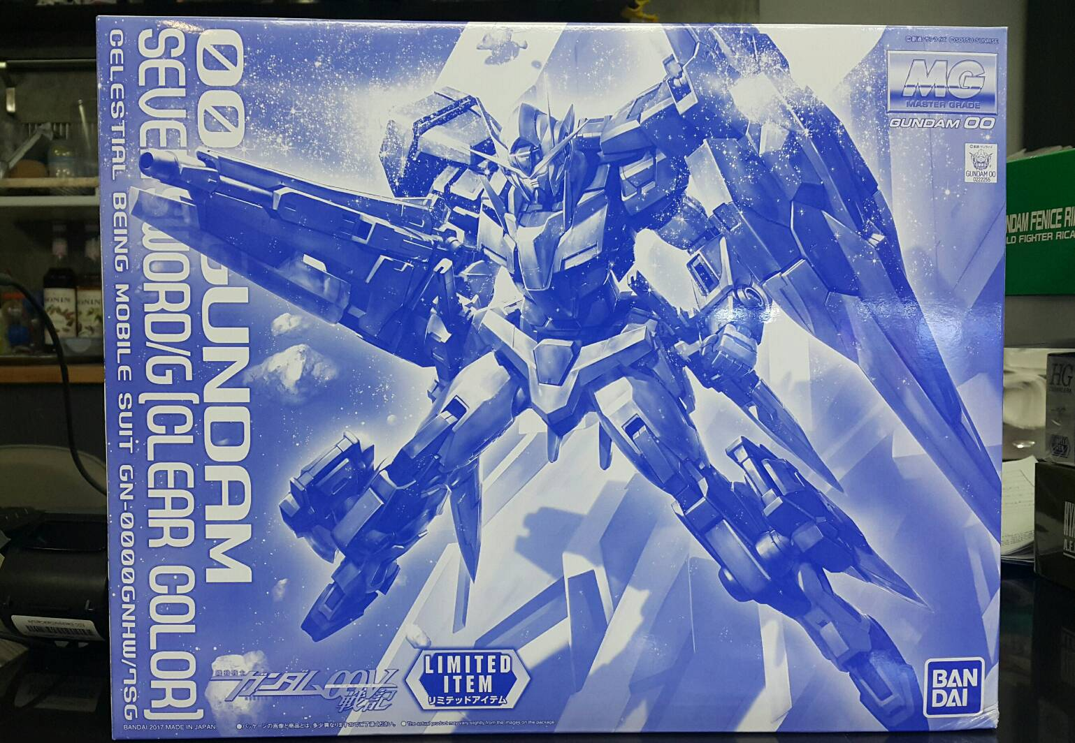 Limited EXPO Osaka MG 1/100 OO Seven Sword/G [Clear Ver]