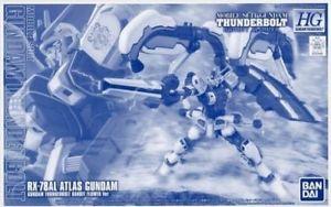 (มี1 รอเมลฉบับที่2 ยืนยันก่อนโอนเงิน ) P-bandai HG 1/144 RX-78AL Atlas Gundam (GUNDAM THUNDERBOLT BANDIT FLOWER Ver.)