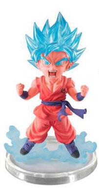 (มี1รอเมลฉบับที่2 ยืนยันก่อนโอน )โงกุน ผมฟ้าเขียว เสื้อส้ม gasha dragon ball 07