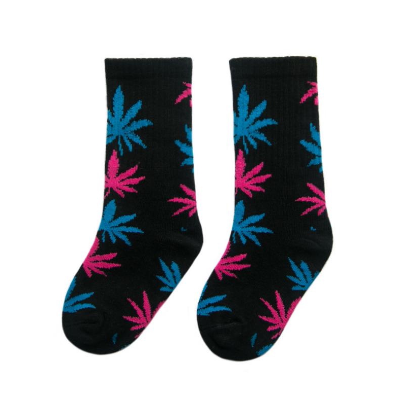 ถุงเท้ายาว สีชมพู แพ็ค 10 คู่ ไซส์ M (ประมาณ 3-5 ปี)