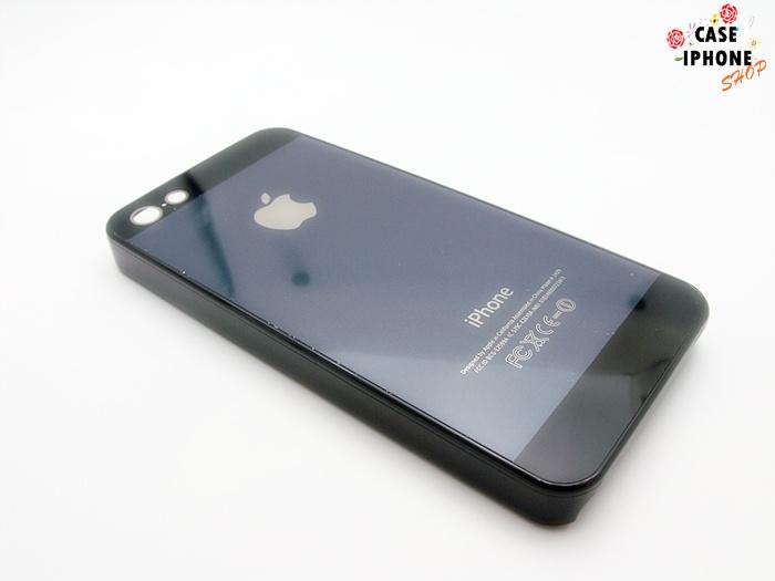 เคสฝาหลังแข็งมีโลโก้แอปเปิ่ล ไอโฟน 5/5se/5s