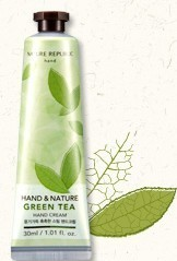 ์Nature Republic Hand Cream :Green Tea