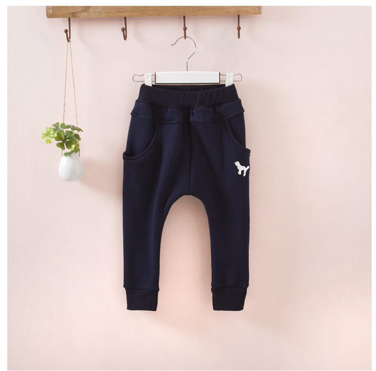 กางเกง(มีขนด้านในอ่อนๆ) สีกรม แพ็ค 5ชุด ไซส์ 100-110-120-130-140