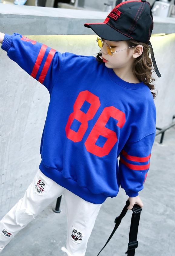 เสื้อ สีน้ำเงิน แพ็ค 5 ชุด ไซส์ 120-130-140-150-160 (เลือกไซส์ได้)